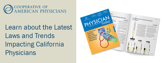 Tuesday Rx: Laws and Trends Impacting California Physicians, Census 2020 and Upcoming Events.