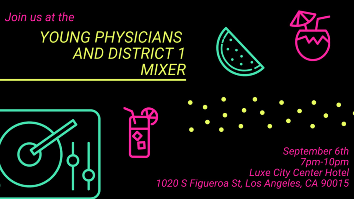 Monday Rx | August 19, 2019 | Confidential Physician Compensation AB 1404, Physician Reimbursement Challenges, Physician Burnout Survey, and Young Physicians Mixer