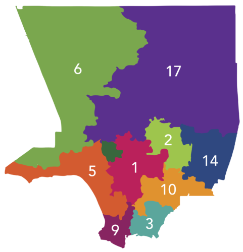 Districts Map